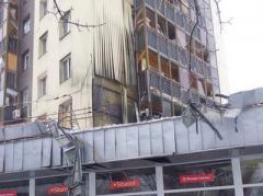 """В сети опубликованы фото разрушений здания бывшего магазина """"Дончанка"""" (ФОТО)"""