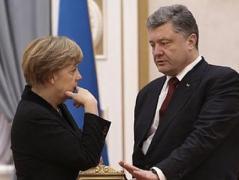 Меркель пообещала не заключать внешнеполитических сделок по Украине за спиной Киева
