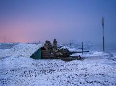 За сутки в зоне АТО боевики 35 раз обстреляли позиции ВСУ, один украинский военный ранен