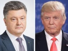 Телефонный разговор Порошенко и Трампа состоится в эти выходные