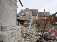 Число разрушенных домов в Сартане выросло до 30, поврежден газопровод, нет света