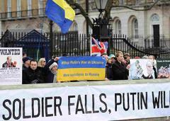 В Британии вышли на протест против Путина (фото)