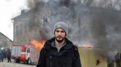 К раненому в Авдеевке британскому фотожурналисту возвращается зрение