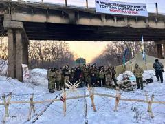 Кого нашли среди участников блокады Донбасса