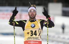 Олімпійський чемпіон відмовився тиснути руку російським біатлоністам