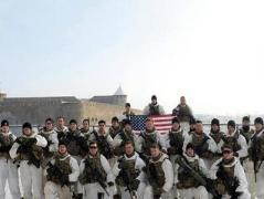 Американские военные сделали фото в 100 метрах от российской границы