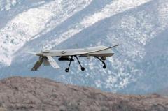Американский дрон дезертировал в горах