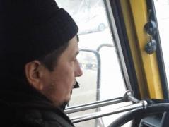 Война не для всех -  водитель киевской маршрутки в грубой форме отказался везти бойца АТО (ВИДЕО)
