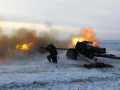 Боевики из артиллерии 122 мм  калибра обстреляли Трудовское