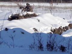 """Боевики """"ЛНР"""" заняли позиции в """"серой зоне"""" и уже основательно обустроились"""