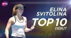 Элина Свитолина вошла в десятку лучших теннисисток планеты