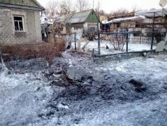 С начала  года в Авдеевке ранены 13 местных жителей,  погибло 5 человек