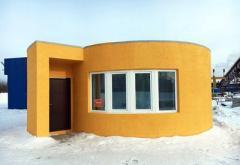 Иркутский стартап впервые в России напечатал жилой дом (ВИДЕО)