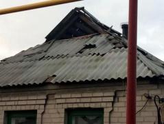 В Авдеевке из-за обстрелов боевиков повреждены жилые дома