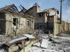 В оккупированной Горловке из-за ночных обстрелоы повреждено 5 жилых домов