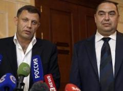 """Плотницкий мечтает о референдуме о присоединении к России, а Захарченко утверждает, что Киев признал """"республики"""""""