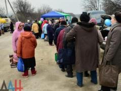 В оккупированном Донецке на ярмарке рекламировали товары местного производства (ФОТО)