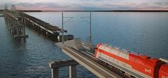 Керченский мост разваливается на части - видео