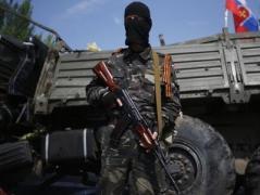 На станции Байрак под Горловкой уничтожены техника и десяток  боевиков