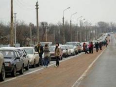 Очевидцы сообщают ситуацию на КПВВ Донбасса