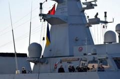 В Одессу зашли военные корабли ВМС Турецкой Республики.