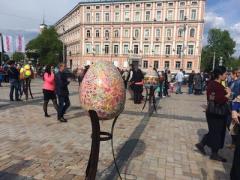 Сегодня на Софийской площади в Киеве стартует фестиваль писанок