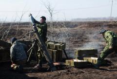 На Донбассе четыре украинских защитника были ранены в минувшие сутки