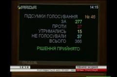 Дождались: Закон о рынке электроэнергии Радой был принят