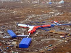 Россия впервые показала свою военную базу в Арктике