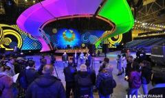 В Киеве завершилось строительство главной сцены Евровидения