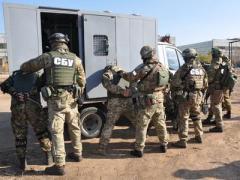 Сегодня СБУ начинает антитеррористические учения на границе с Крымом