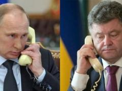 Порошенко и Путин постоянно общаются по телефону
