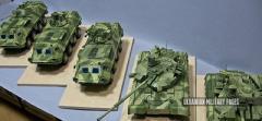 Техника АТО в миниатюре: художники показали масштабные модели