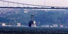 В Черное море вошел американский ракетный эсминец. ВИДЕО