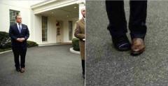 Оказалось правдой: раскрыта «тайна» разных ботинок пресс-секретаря Трампа