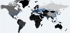Intel запустила онлайн-карту эпидемии вируса-вымогателя WannaCrypt