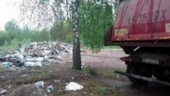 Львовский мусор обнаружили в детском лагере в 45 км от Киева