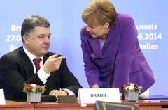 Порошенко и Меркель обсудят давление на РФ и европейский вектор Украины