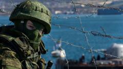 В Крыму российские войска готовятся к наступлению