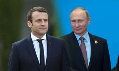 Встреча Путина с Макроном: первые подробности