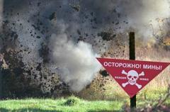 ЧП на Донбассе: под Талаковкой тракторист наехал на мину