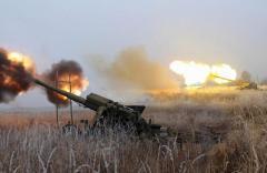 Между Песками и Лозовым оккупанты оборудуют новые позиции для артиллерии, - ИС