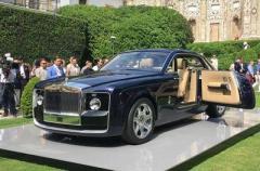 Rolls-Royce презентовал самый дорогой автомобиль в мире (ВИДЕО)