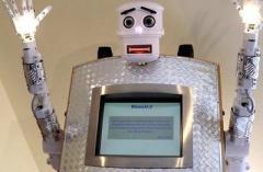 В немецком храме появился робот-священник (ВИДЕО)