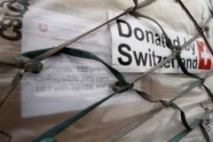 Посольство Швейцарії направило на окупований Донбас 600 тонн гуманітарки