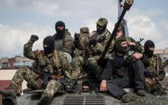 Российским боевикам на Донбассе запрещают носить на форме опознавательные шевроны