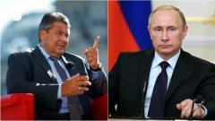 Глави МЗС Німеччини та Путін обговорили війну в Україні під час приватної вечері