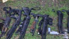 Стрілянина на Вінничині: заарештували 45 людей