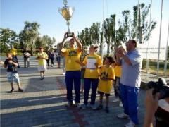 Семья из Угледара стала лучшей спортивной семьей в Украине