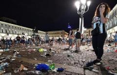 """В Турине около 1000 болельщиков """"Ювентуса"""" стали жертвами паники"""